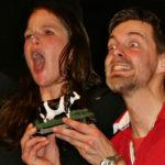 stadtland impro - Karin Killy und Johannes Bockermann