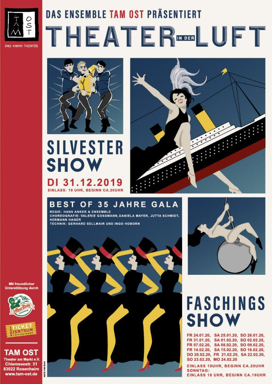 2019 - Plakat - THEATER IN DER LUFT, Bild: Stine Helbig